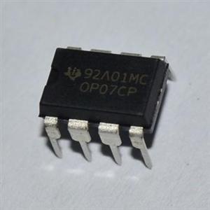 为什么op07放大电路输出的电压有效值比示波器测的的