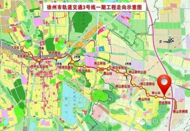 淮海纪念塔附近地图